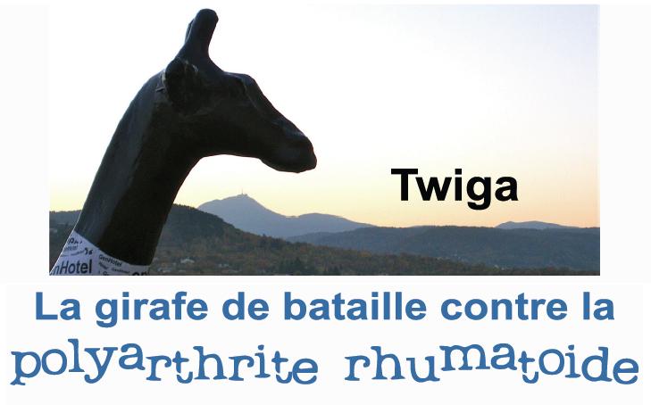 Twiga, Girafe de bataille