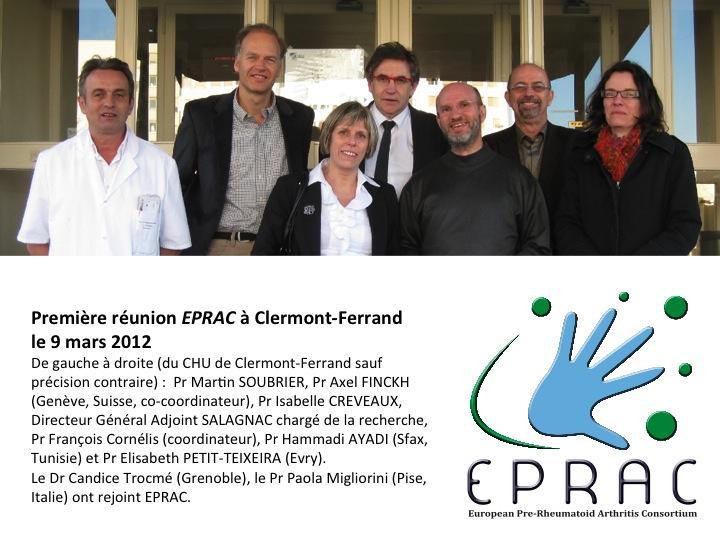 Membres du consortium EPRAC